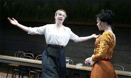 Emily Watson and Helen McCrory in Uncle Vanya