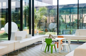 Health and design : breakout area at the Royal Children's Hospital
