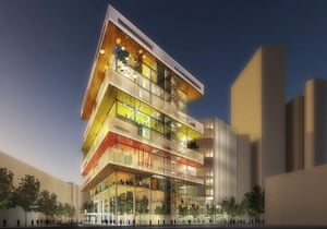 Health and design : Guys and St Thomas Hospital