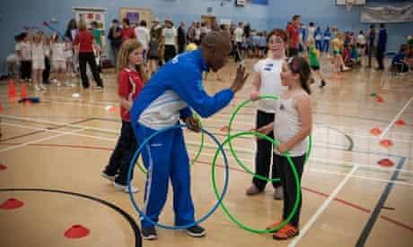 UK - Wrexham - Lesotho Olympic Team