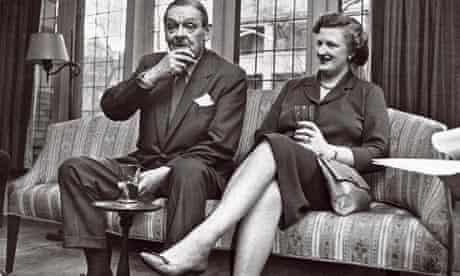 Tom and Valerie Eliot in 1959