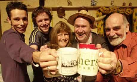 The Archers Grundy family