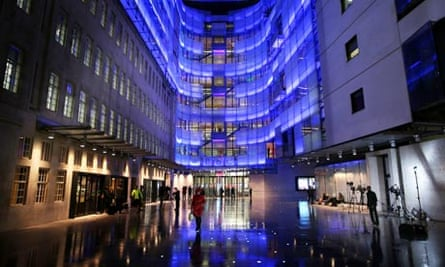 BBC headquarters, Broadcasting House, in London