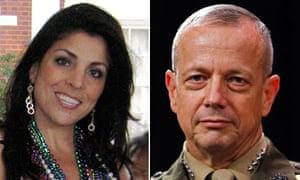 Jill Kelley and US General John Allen