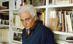 Jacques Derrida in His Library