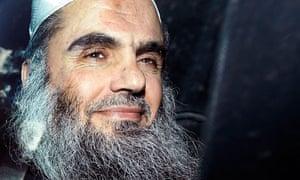 Abu Qatada leaves court April 2012