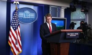 Jay Carney press briefing on Petraeus