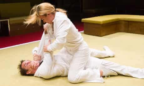 Billie Piper (Connie) and Jonjo O'Neill (Tristan) in The Effect