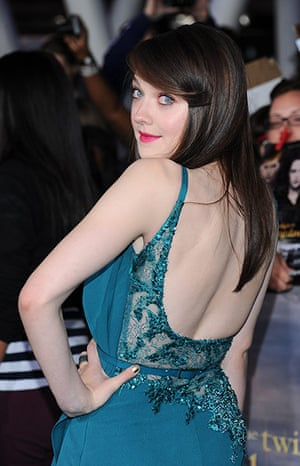 The Twilight premiere : Dakota Fanning