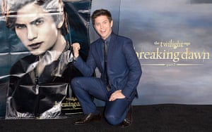 The Twilight premiere : Actor Jackson Rathbone