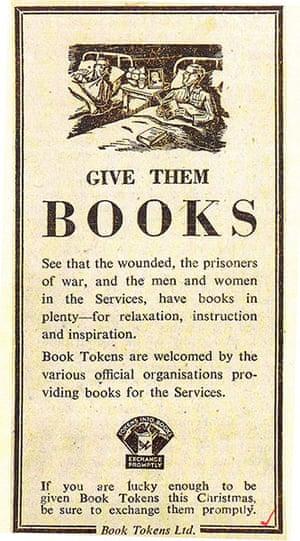 Book Token Designs: National Book Token Advert, 1944