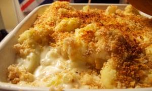 Felicity's perfect cauliflower cheese