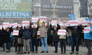 Austerity protests in Vienna, 14 November 2012