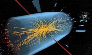 Proton collision in CMS detector at the LHC