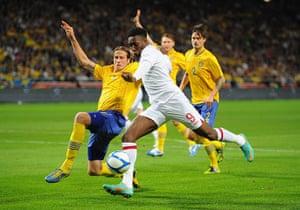 footy: Sweden v England - International Friendly