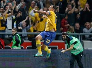 footy4: Sweden's Zlatan Ibrahimovic