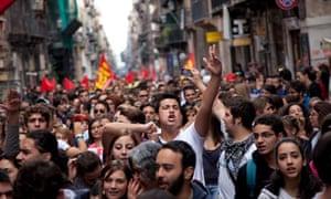 European General Strike in Palermo