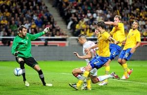 footy6: Soccer - International Friendly - Sweden v England - Friends Arena