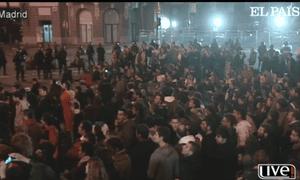 Madrid, evening of 14 Novermber 2012