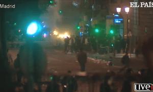 Madrid, evening of 14 November 2012