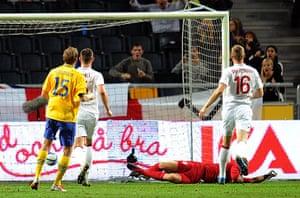 footy9: Soccer - International Friendly - Sweden v England - Friends Arena