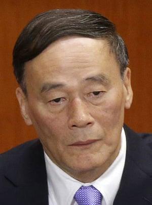 chinaleaders: Wang Qishan, vice-premier