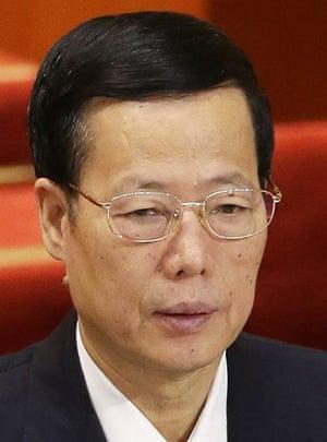 chinaleaders: Zhang Gaoli, Tianjin party secretary