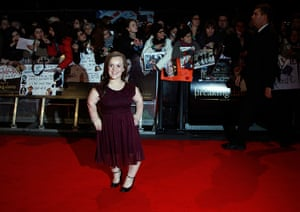 Twilight London premiere: Paralympic swimmer Ellie Simmonds