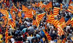 Independence rally Barcelona