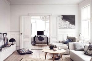 Homes: Danish: The living room