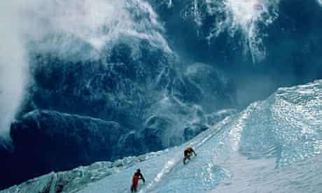 Ice Climbing on Mount Aconcagua