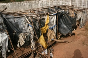 World Toilet Day: Public latrines in Kroo Bay slum in Freetown, Sierra Leone
