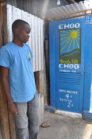 World Toilet Day: toilet in Mukuru slum in Nairobi