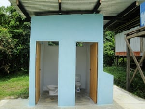 World Toilet Day: primary school in the village of Yana Mono Zone Two, Amazon River