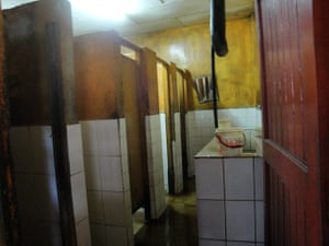 World Toilet Day: the public toilets in the Mercado de Productores in the city of Iquitos