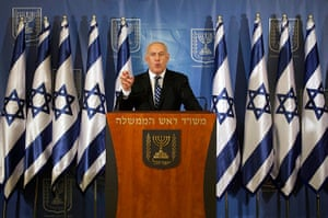 Strikes update: Israel's Prime Minister Benjamin Netanyahu delivers a statement