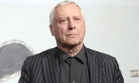 Peter Greenaway at the Goltzius and the Pelican Company premiere in Rome