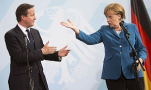 German Chancellor Angela Merkel and Brit