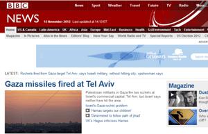 bbc gaza