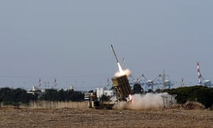Israel iron dome defence Ashdod