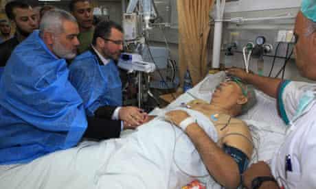Shifa hospital in Gaza City