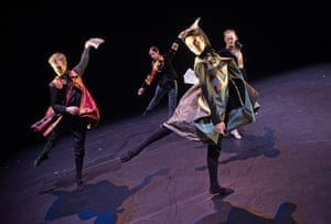 Week on stage: A scene from Noted by Yorke Dance Project at the Lilian Baylis