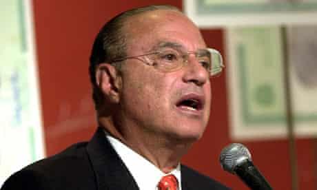 Brazilian businessman and former São Paulo mayor Paulo Maluf