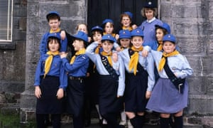 Fighting for women's rights … Girl Guides.