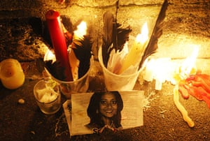 Ireland abortion row: Candles are left in tribute in memory of Savita Halappanavar
