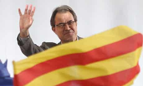 Artur Mas, leader of Catalonia's regional government
