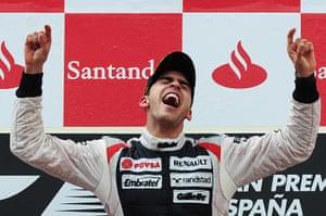 formula one: 5. William's Venezuelan driver Pastor Maldo