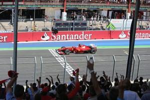 formula one: 8. Ferrari's Spanish driver Fernando Alonso