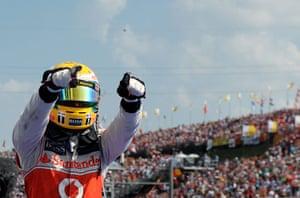 formula one: 11. McLaren Mercedes' British driver Lewis H