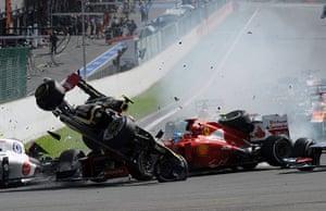formula one: 12. AUTO-PRIX-F1-BELGIUM-SPA